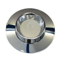 Blindrosette BRO-MK 140, chrom für UP6000 allmess