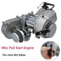 AUDEW 49cc Motor Vergaser Pull Start mit Getrieb Für Mini Motor Dirt Quad Bike ATV