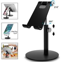 Aluminium verstellbar Desktop Halter Tisch Ständer für Handy Smartphone Tablet