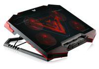 SK-110 Notebook Laptop Kühler   5 x LED Lüfter   2 x USB   Schwarz