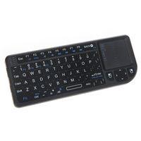RII ? Mini X 1 Handheld 2,4 G Wireless Tastatur Touchpad Maus fuer PC Notebook Smart TV schwarz
