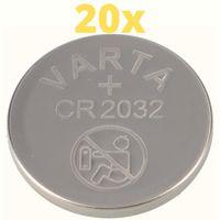 20x Varta Lithium 3V CR2032-P Bulk 3V/220mA lose