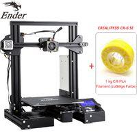 Creality 3D Ender 3 Pro + 1KG PLA filament (zufällige Farbe)