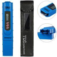 Digitale Wassertester mit LCD Anzeige + Batterie, Variante:2in1 - TDS - Temp