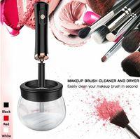 Elektrische Make-Up Pinsel Reiniger & Trockner Set Silikon Make-up Pinsel Waschen Reiniger Reinigung Werkzeug Maschine