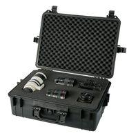 AREBOS Kamerakoffer Transportkoffer Schutzkoffer mit Würfelschaum 35l