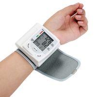 LCD-Display Blutdruckmessgerät Handgelenk-Pulsmesser Automatischer digitaler Pulsmesser Blutdruckmessgerät Produktfamilie Diagnose-Tool