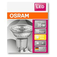 OSRAM LED STAR PAR16 35 (36°) BOX Warmweiß SMD Klar GU10 Spot