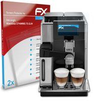 atFoliX FX-Clear 2x Schutzfolie kompatibel mit DeLonghi Maestosa (EPAM960.75.GLM) Displayschutzfolie