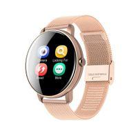 Bluetooth 4.0 Smartwatch Fitness Tracker Armband Uhr Schlafmonitor Wasserdicht # Rosegold