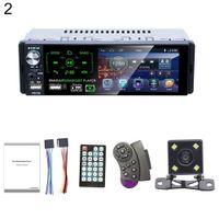 P5130 4,1-Zoll-Autoradio Bluetooth-Touchscreen-MP5-Player mit Rückfahrkamera - mit 4-LED-Rückfahrkamera