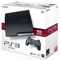Sony PlayStation 3 160GB, PlayStation 3, 256 MB, Blu-Ray, 160 GB, 10, 100, 1000 Mbit/Sek, 802.11b, 802.11g