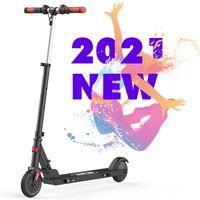 MARKBOARD Elektroscooter mit 12km Langstrecken Akku, bis zu 18km/h, Einfach zu Falten und zu Tragen E-Roller für Erwachsene Jugendliche und Kinder schwarz