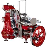 Berkel Volano B2 rot/gold fiorato Aufschnittmaschine