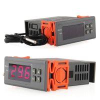 220V Digital LCD Temp Temperaturregler Schalter Thermostat Relais mit Sensor