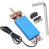 Mllaid Handheld-Punktschweißgerät, tragbarer DIY-Punktschweißstift mit integriertem Punktschweißgerät und automatischem Auslöser, Zubehör für Batterie, 3 Farben