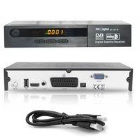 MK Digital HD-1462se FTA Scart HDMI USB PVR Digital EPG Full HD 1080p Sat Receiver