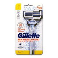 Gillette SkinGuard Sensitive Rasierer + 1 Ersatzklinge