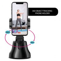 Silvergear 360 Grad Handystativ mit Bewegungssensor, Gimbal Stabilisator, Motion Tracking Stativ, Smartphone Bewegungsverfolgung für Videos, TikTok, YouTube, Android, iOS