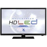 "Trevi LTV 2401 SAT 24"" HEVC Multisystem LED TV Schwarz"