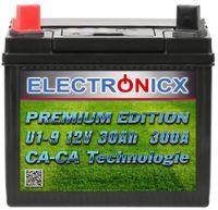 Electronicx U1(9) 30AH 300A(EN) Green Power Aufsitzrasenmäher und Gartengeräte