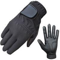 ATTONO Winter Golfhandschuhe Golf Winter Handschuhe Leder Handinnenfläche