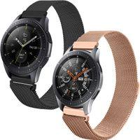 Samsung Gear S3 Frontier,Samsung Gear S3 Classic,Samsung Galaxy Watch 46 mm Band: iMoshion Uhrenarmband Multipack Mailand