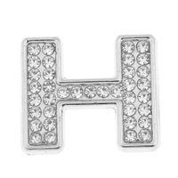 Strass Diamante DIY Buchstaben Alphabet Auto Abzeichen Aufkleber Emblem Größe H