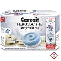Henkel Ceresit Luft-Entfeuchter-Tabs AERO 360 Nachfüller 4x450g Granulat