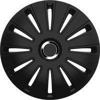 4 STK 16 Zoll Daytona pro black schwarz PETEX Radkappen Radzierblenden Satz PKW Auto