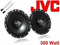 JVC Lautsprecher System Einbau Set Tür vorne Peugeot 206 CC 1998 - 2012 300Watt