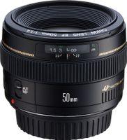 Canon EF 50mm f/1.4 USM, SLR, 7/6, 0.45 m, Canon EOS, Schwarz, 73.8 mm