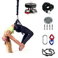 80 kg schweres Yoga-Bungee-Kabel, Widerstandsgurt-Kit, Schwerkraft-Trainingswerkzeug für Trapez-Yoga-Training