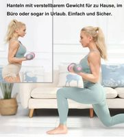 MIIGA Hantel-Set für Gymnastik Aerobic Fitness Krafttraining Muskeltraining