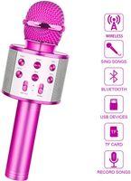 VADOOLL Drahtloses Bluetooth Mikrofon für Kinder - Lustige Geschenk für Teenager Mädchen Jungen