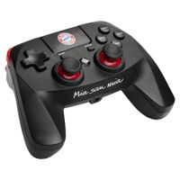 Snakebyte PS4 Wireless Pro-Controller (FC Bayern München), Farbe:Schwarz