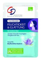 CD Tuchmaske Feuchtigkeit und Glättung, Vegane Pflegemaske mit pflanzlichem Hyaluron 1 Stück
