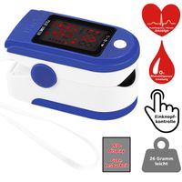 Finger Pulsoximeter Sauerstoff Puls SpO2 Messgerät Oximeter SpO-2 Pulsoxymeter