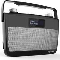 DAB+ digital Radio / UKW Radio sky vision DAB-7S
