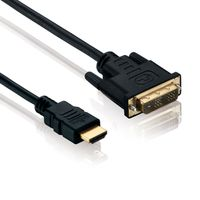 3m HDMI auf DVI Kabel 1080p FULL HD PC TV Video Monitor Beamer Kabel