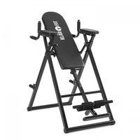 Klarfit Power-Gym - Inversionsbank , Hang-Up-Rückentrainer , Rücken-Bank , 6-in-1-Multitrainer , Inversion, Push-Ups, Squats, Chin-Ups, Dips & Ab-Training , bis 120 kg , verstellbar , schwarz