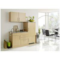 Single-Küche 160 TERAMO-03 Buche Nachbildung B x H x T ca. 160 x 200 x 60cm