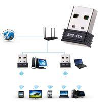 Mini USB 2.0 WiFi WLAN Wireless Adapter 150 Mbit IEEE 802.11b/g/n Stick Dongle