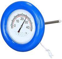XL Pool Thermometer Wassertemperatur Schwimmring Poolthermometer Temperatur