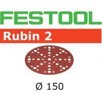 Festool Rubin Schleifscheiben STF D150/48 P80 RU2 50 Stück 575188 Schleifmittel