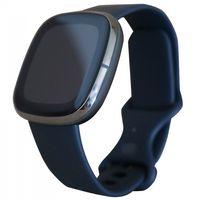 Fitbit Sense Carbon/ Graphite Stainless Steel, Farbe:Schwarz-Anthrazit