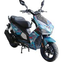 Motorroller Shark 50 ccm 45 kmh EURO 5 blau