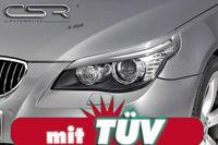 CSR Scheinwerferblenden für BMW E60 E61 5er 03-10 Böser Blick Blenden Set ABS