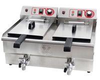 Beeketal Gastronomie Friteuse Fritteuse 400 V , Modell:BWF-132 400V