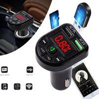 1PC Auto MP3-Player BT Wireless FM Transmitter LCD MP3-Player USB-Ladegerät Autozubehör